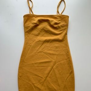 Windsor yellow mini dress